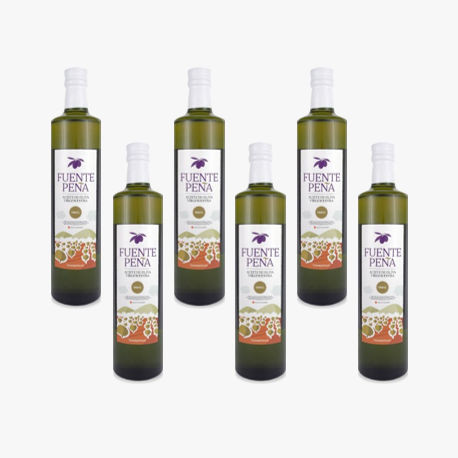 6 bouteille Huile d'olive Extra ORG 500ml